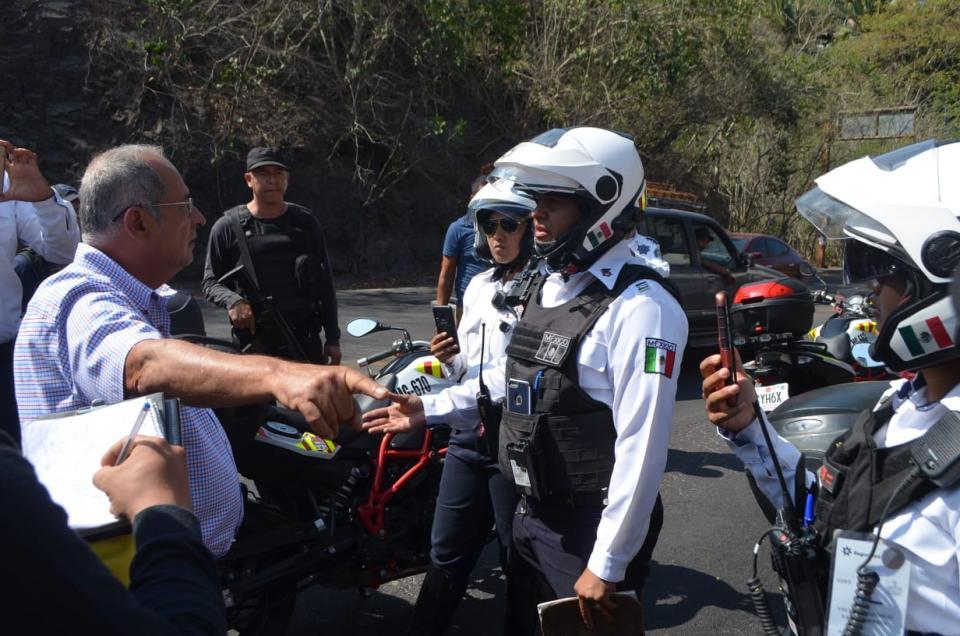 Operativo vial del Estado continúa en Puerto Vallarta Secretario General  los confronta