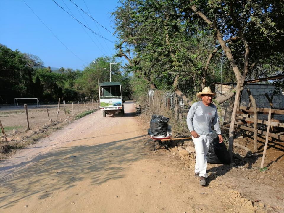 Visitantes al río dejan subasura en Playa Grande
