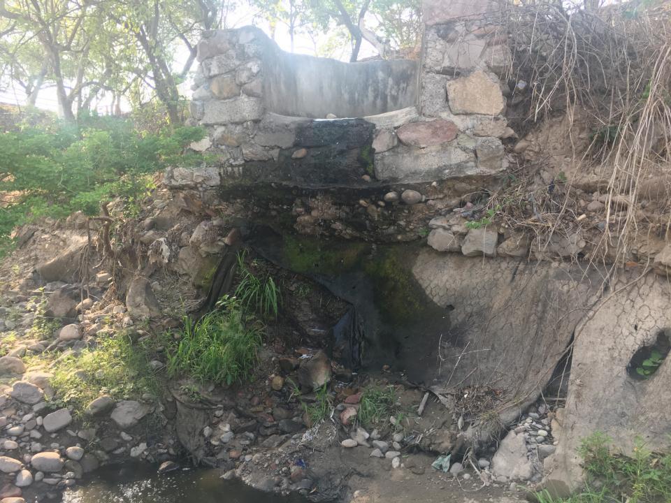 Abandonado el Parque Lineal