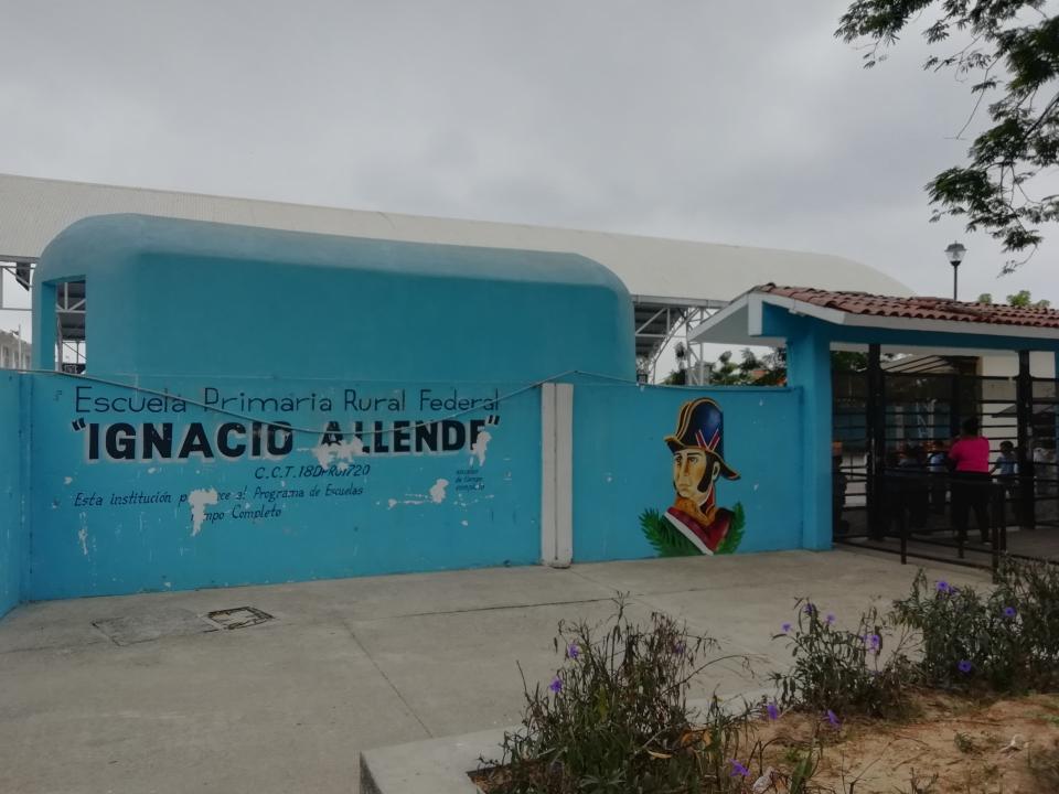 Escuela Ignacio Allende de Altavela, seencuentra con deficiencias eléctricas