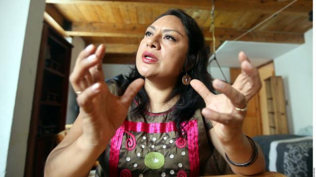 Una luchadora desde el papel Irma Pineda