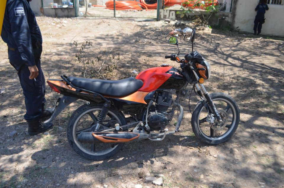 Tras movilización por robolocalizan moto sospechosa