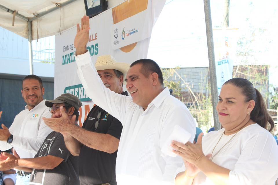 Buenas obras transforman la delegación de Ixtapa
