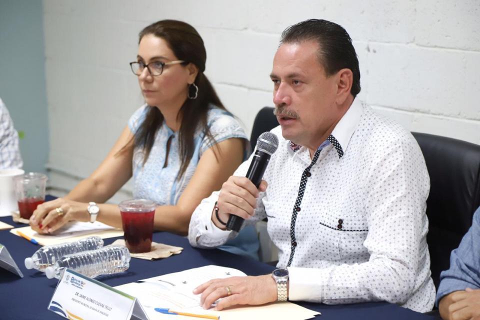 Encabeza Jaime Cuevas Primera Sesión del Consejo Municipal de Salud