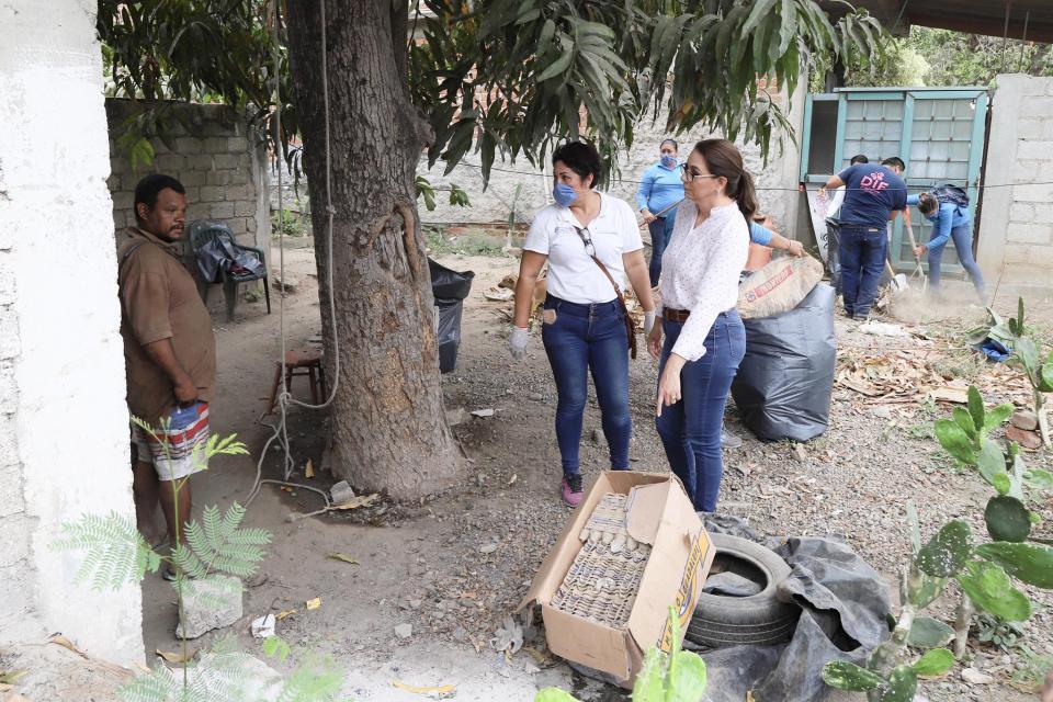 Acuden DIF Bahía de Banderas y dependencias municipales en ayuda de familia vulnerable