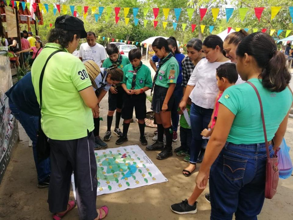 Celebra Estero el Salado19 años como ANP