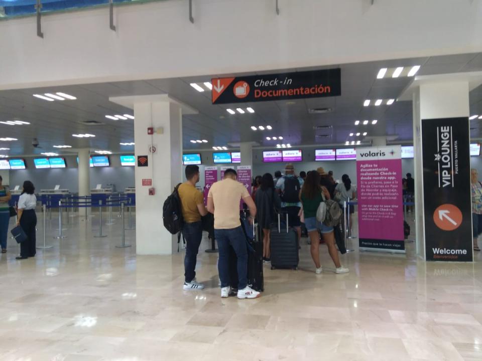 En junio bajó el tráfico de pasajerosaéreos internacionales en un 1.5%