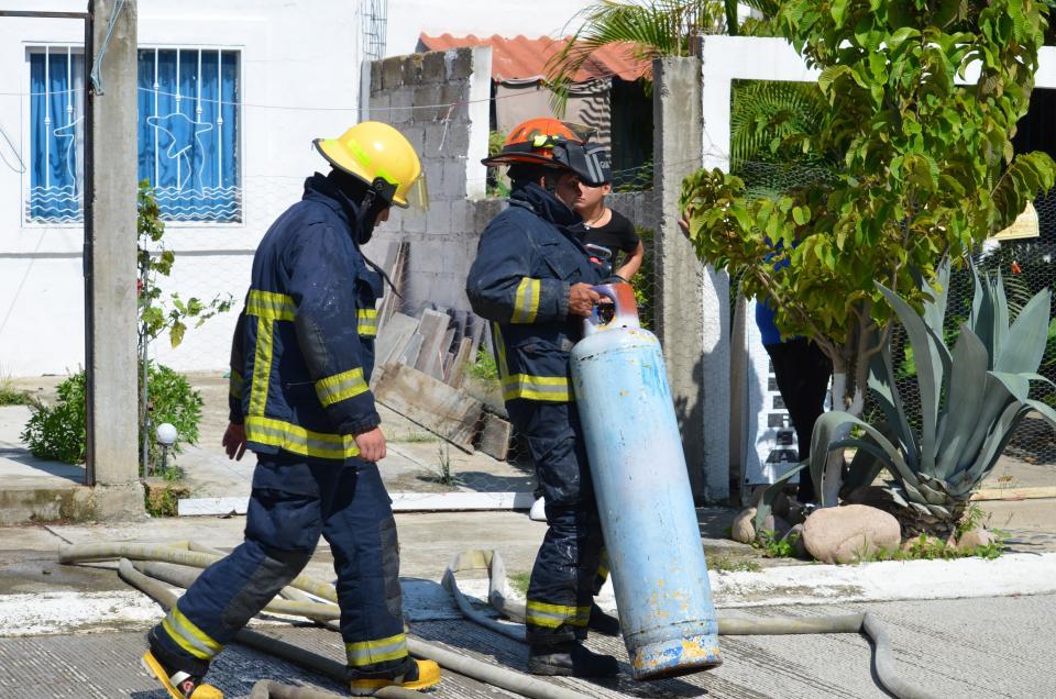 Fuga de gas ocurreen Campo verde