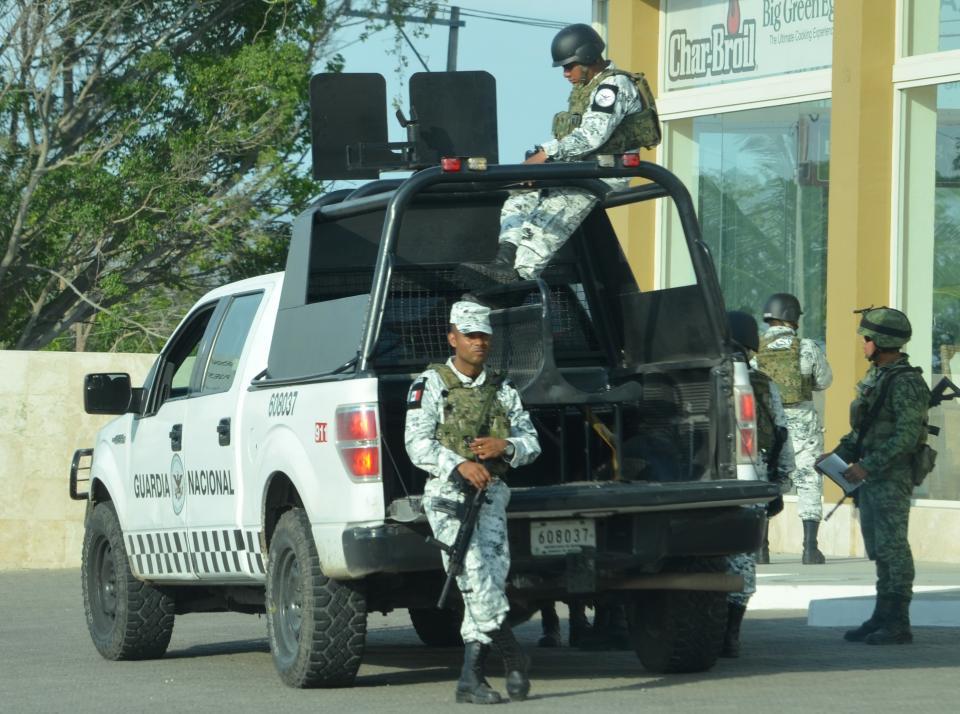 Logra Guardia Nacional primeracaptura en operativo mixto