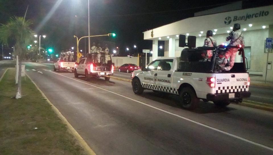 """""""Llega la Guardia Nacional a Puerto Vallarta"""""""