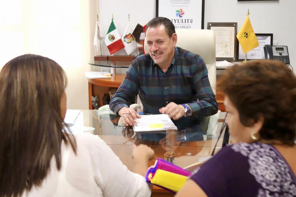 Reafirma Jaime Cuevas su compromiso de un gobierno de puertas abiertas