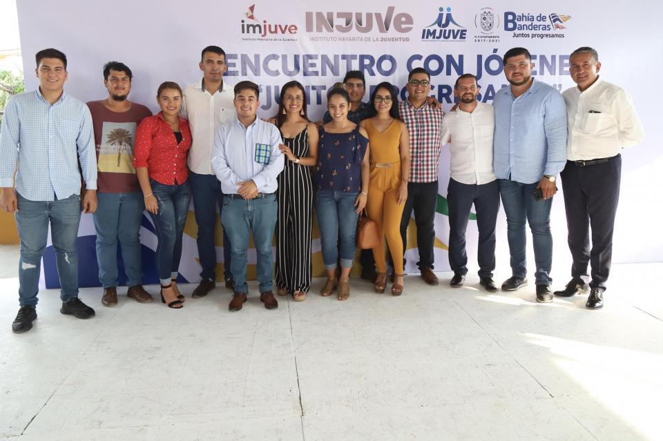 """Afirmó el Director del Instituto Mexicano de la Juventud """"Jaime Cuevas es un aliado de los Jóvenes"""""""