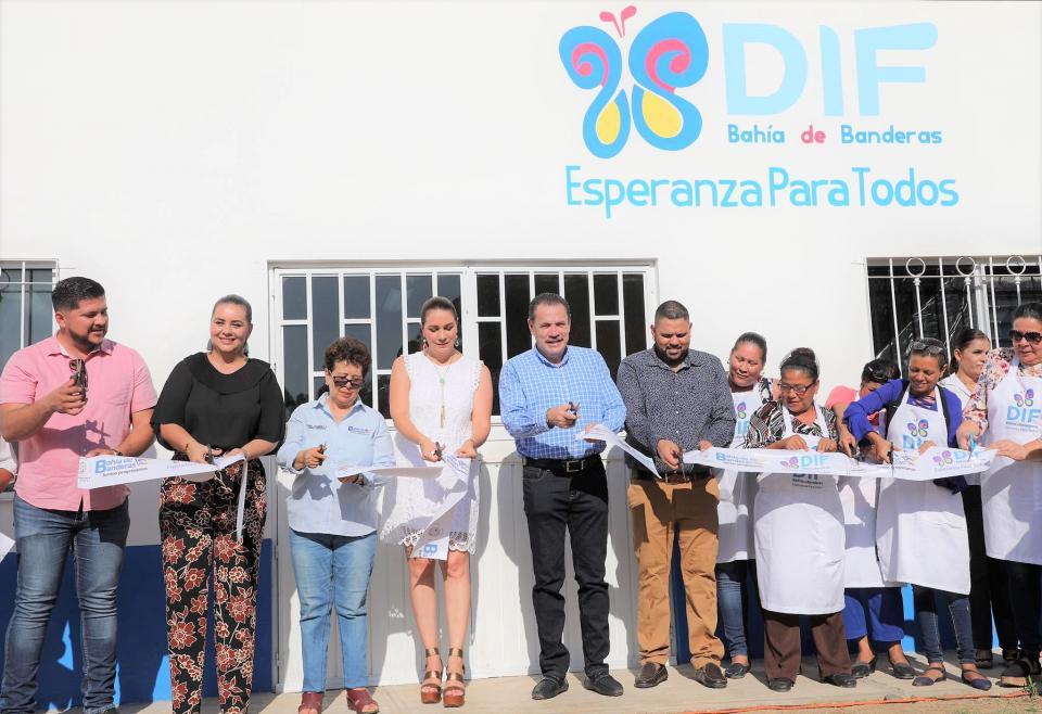 Inauguran nueva cocina para talleres del Sistema DIF Bahía de Banderas