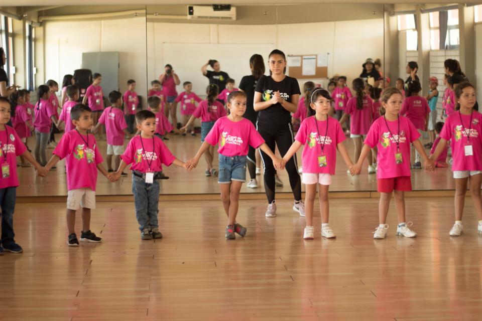 Deporte, cultura para 160 niños y jóvenes en el curso de verano Cucosta