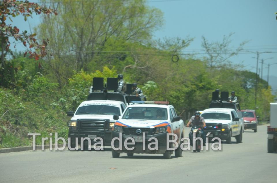 Reportaban Disparos en Ixtapa, Acude policía Municipal y la Guardia Nacional