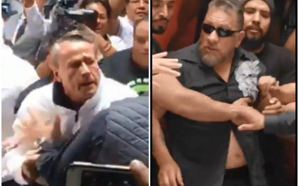 Carlos Trejo agrede a Alfredo Adame durante conferencia sobre su pelea