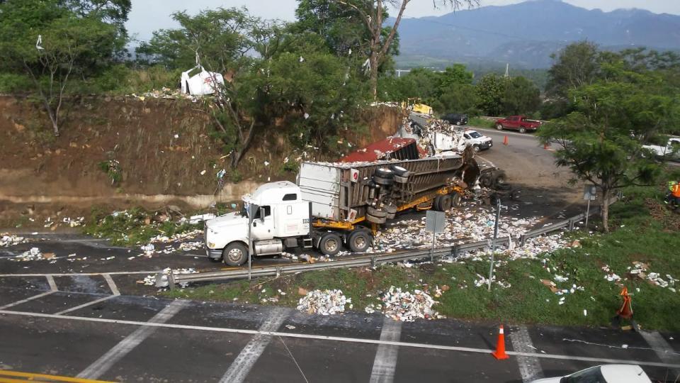 Fatal accidente se registra sobre autopista Guadalajara a Colima