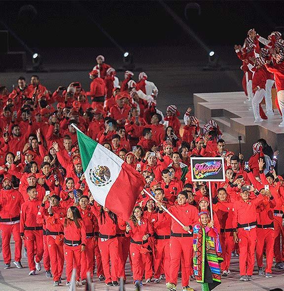 Dan banderazo a JuegosPanamericanos Lima 2019