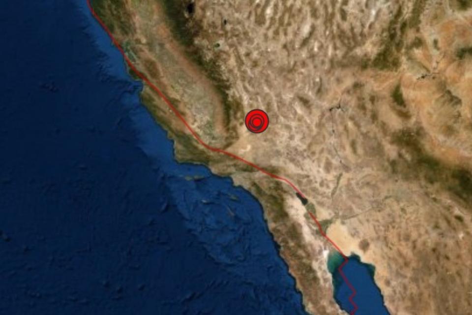 Reportan sismo en California de 6.4 grados