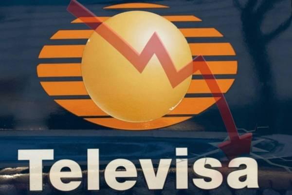 Se desploma 78.6% utilidad de Televisa