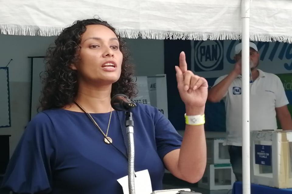 Idalia González electapresidenta del PAN PV