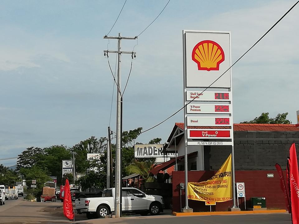 En Bahía de Banderas se encuentrala gasolina más cara del país