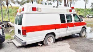 Bahía de Banderas condéficit de ambulancias
