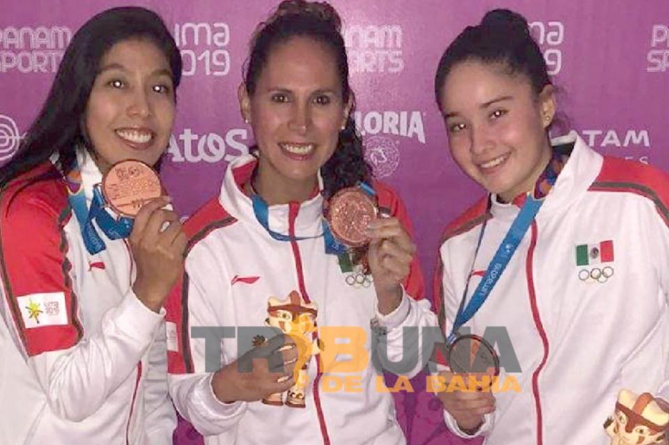 Orgullo vallartense: Dina Anguiano bronce en juegos Panamericanos