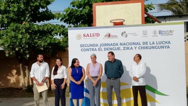 Inician segunda semana nacional de lucha contra el dengue, zika y chikungunya