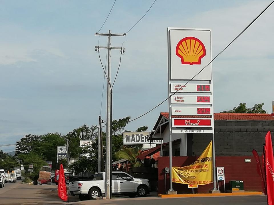 Nuevamente Bahía de Banderas con la gasolina más costosa en el país