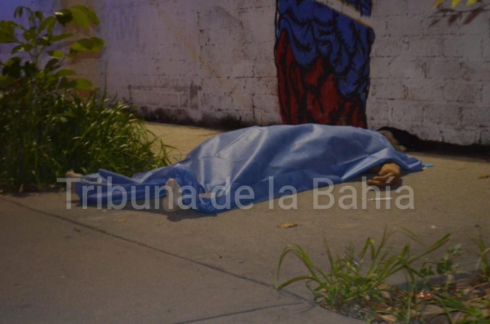 Muere indigente