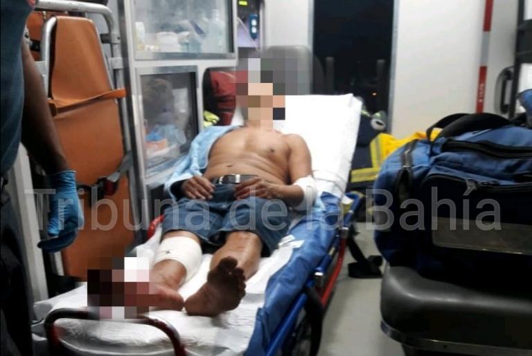 Fue herido por pleito con vecino