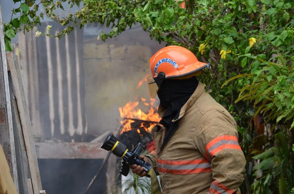 Explosión e Incendio en la presidentes municipales