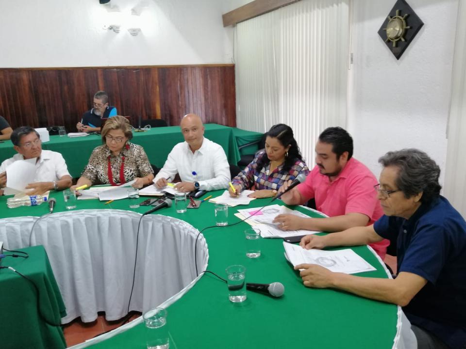 Sesiona la comisión de Seguridad pública y tránsito analizan iniciativas en educación vial