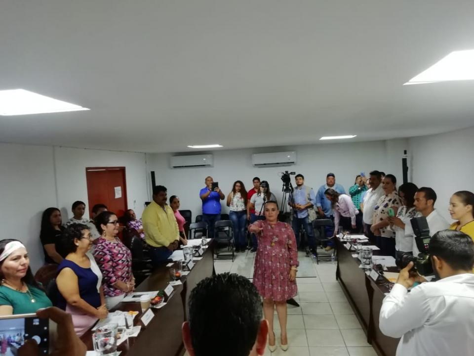Toma protesta Lic. Raquel Dueñas como secretaria ejecutiva de la comisión municipal de Derechos Humanos