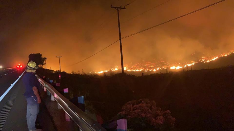 Se establece estado de PreAlerta en Tijuana debido a la condición Santa Ana