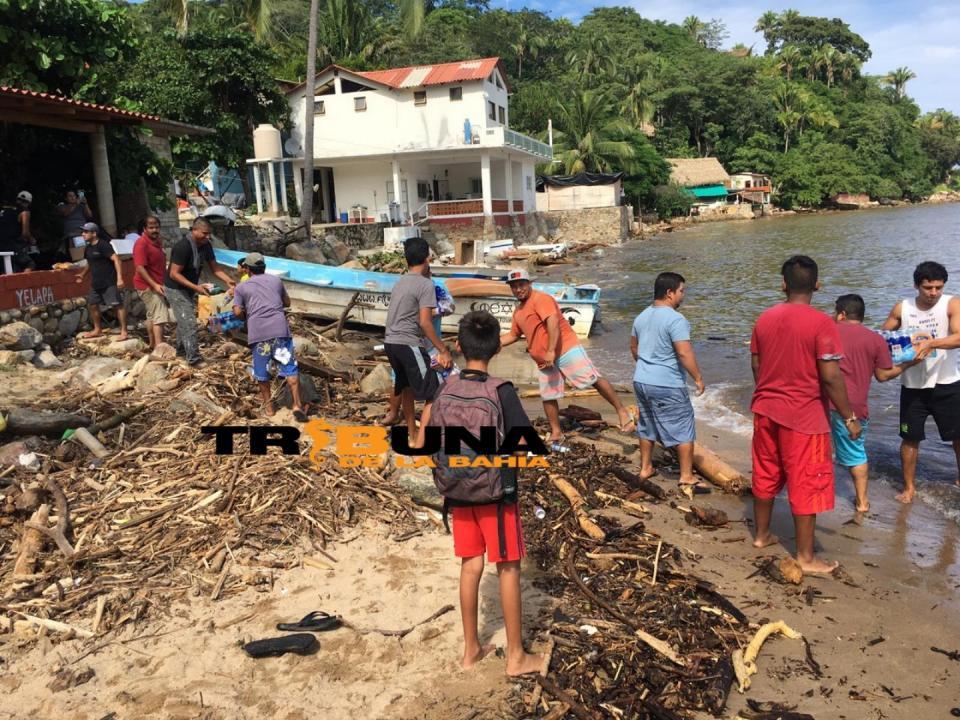 Más de 70 viviendas dañadas en Yelapa por el paso de Tormenta Tropical