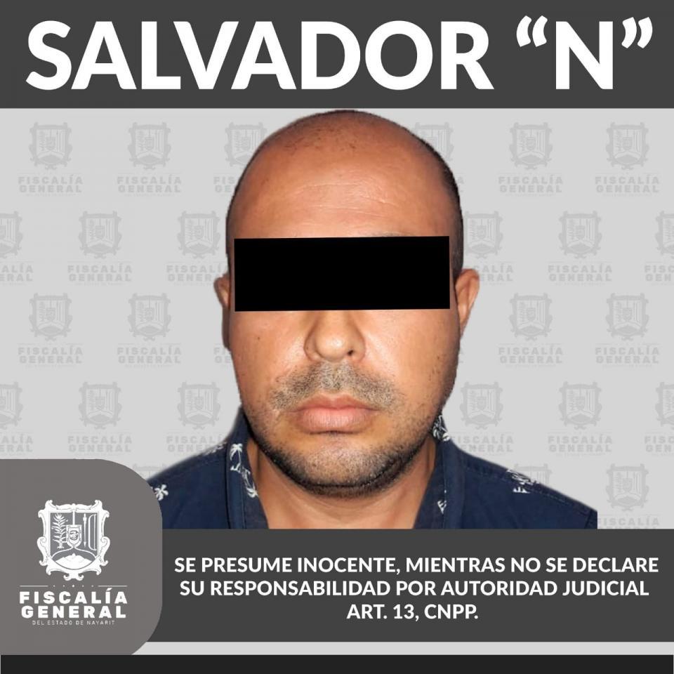 """Salvador """"N"""", aprehendido por diversos delitos"""