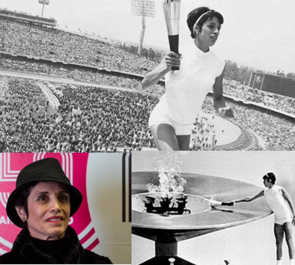 Murió Enriqueta Basilio, la primera mujer en encender un pebetero olímpico