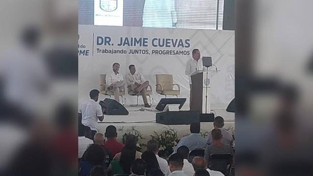 Ratifica Jaime Cuevas que no se pagará la deuda de la presidencia de cartón
