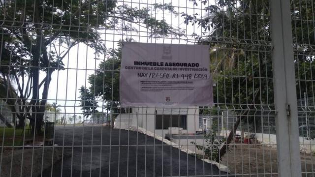 Asegura Fiscalía de Nayarit la planta de tratamiento de Sayulita