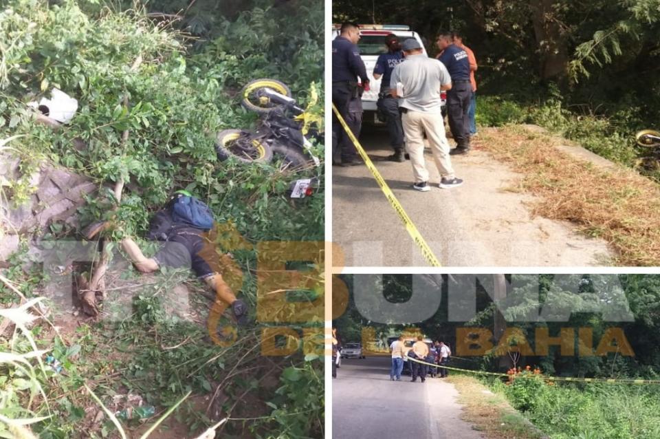 Localizan motociclista sin vida,  podría haber derrapado sobre la carretera 544