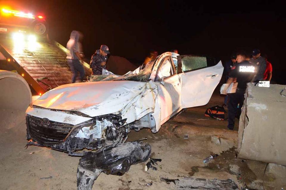 Se mató joven de Loma Bonita en fatal accidente