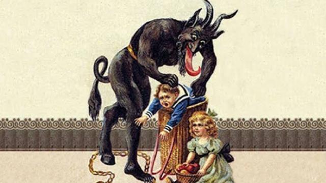 Krampus, el 'diablo' que ronda a los niños el 6 de diciembre