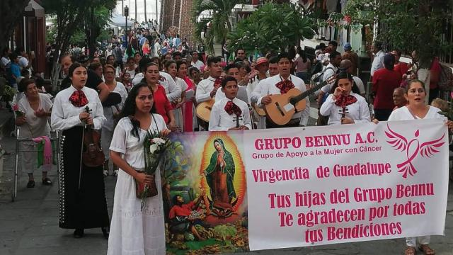 Arrancan peregrinaciones guadalupanas en Puerto Vallarta