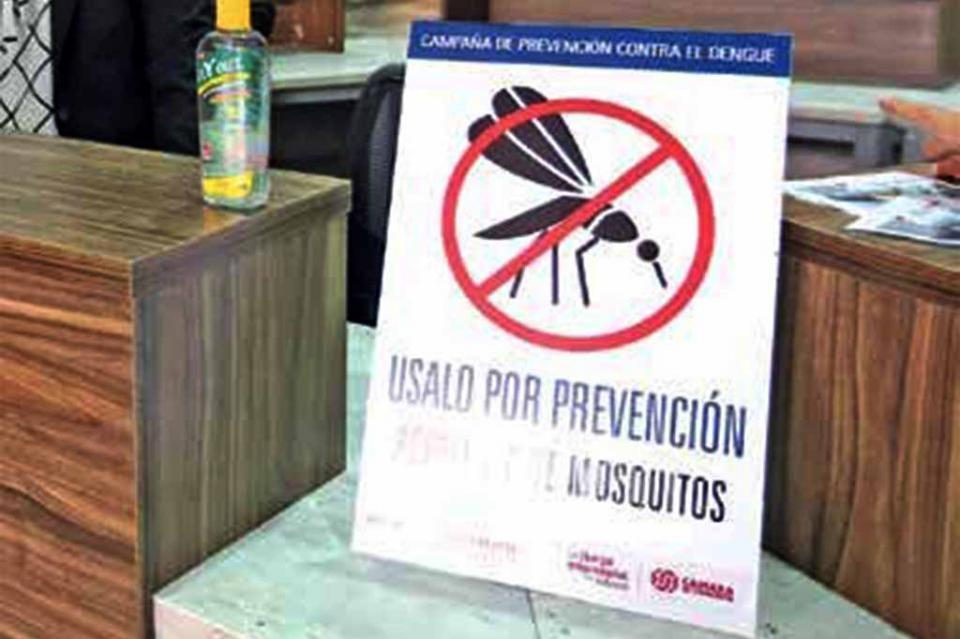 Se enferman 10 mil 547 de dengue en Jalisco