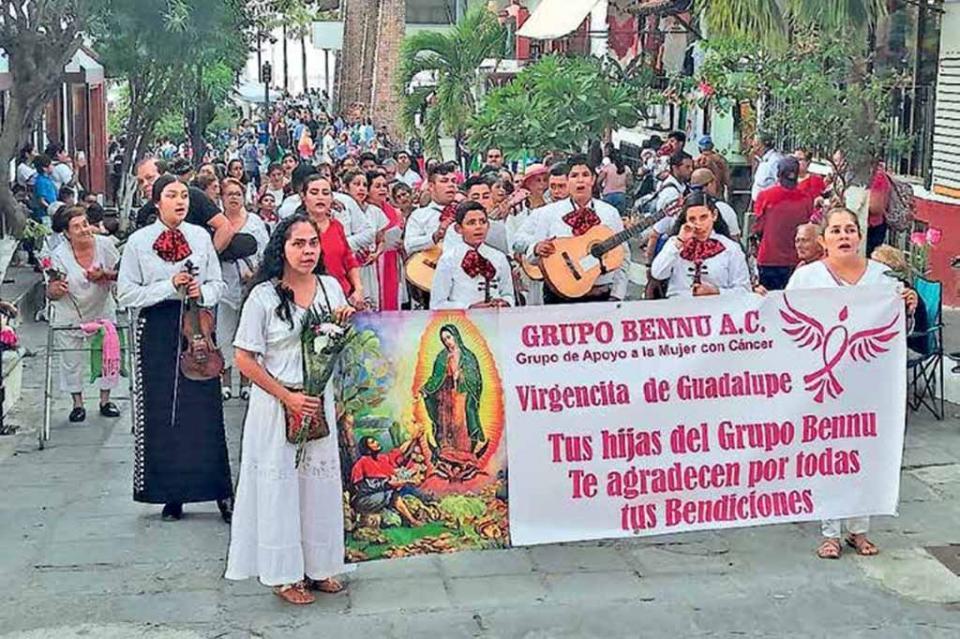Arrancan peregrinaciones; participan asociaciones, familias y más