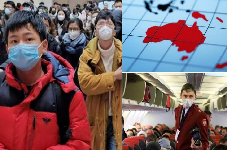 Australia confirma primer contagio por coronavirus chino