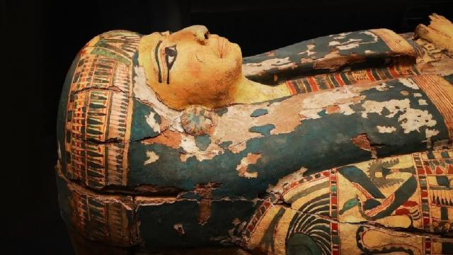 Una momia egipcia recupera la voz tras 3.000 años de silencio
