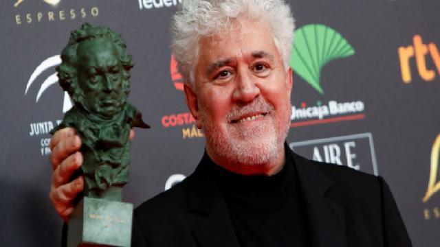 Pedro Almodóvar triunfa en los Premios Goya con 'Dolor y Gloria'